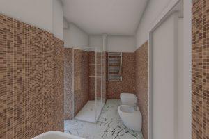 bagno ristrutturato architetto