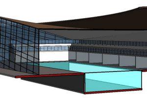 disegno progetto di architetto