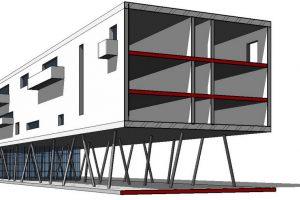 progetto complesso residenziale