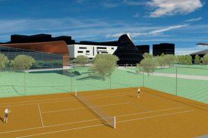render campi da tennis