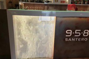 Banco a bolle Santero